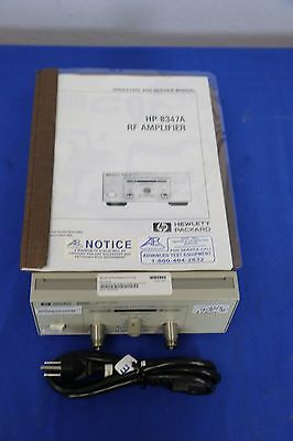 Agilent Hp 8347a 100khz-3ghz Rf Amplifier 25db Gain