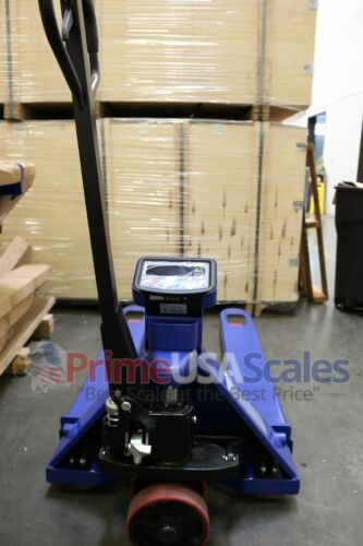 5 Year Warranty Pallet Jack Scale with Built-in Scale 5,000 x 1 lb Capacity