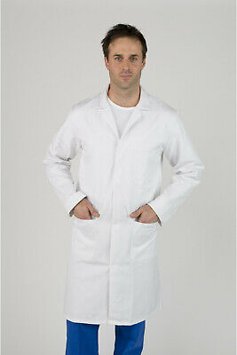 "Men's White Lab / Warehouse Coat – 104cm (41"")"