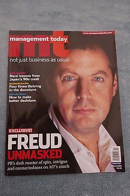 Management Today Magazine: February 2009, Matthew Freud, Excellent Condition