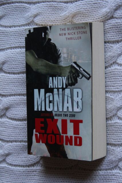 Exit Wound by Andy McNab (Paperback, 2010), Like new, free shipping+ tracking