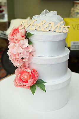 Wedding Cake Envelope Card Box Decoration Handmade