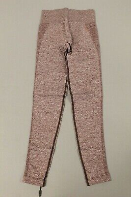 Gymshark Womens High Waisted Flex Legging MM8 Winter Berry/Rose Slate Small NWT
