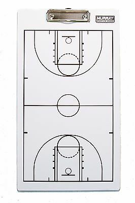 Murray Sporting Goods Dry-Erase Double Sided Basketball Marker Board (Double Sided Dry Erase Marker)