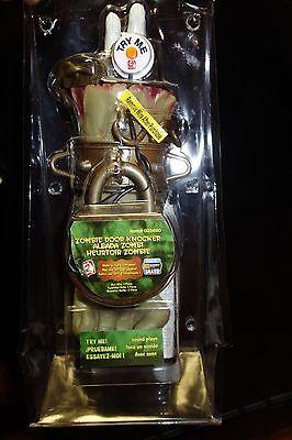 Gemmy Zombie Door Knocker Sound Motion Talking Lifesize Hand Halloween Prop COOL