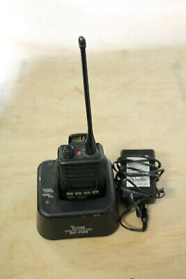 Icom Ic-f60 Two Way Radio With Antenna Batterycharger