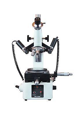 10x-30x-50x Toolmakers Precise Linear Angle Measuring Microscope W Camera Port