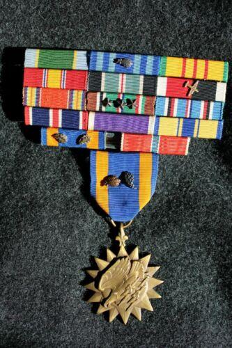 Viet Nam War US Named Air Medal and Ribbon Bar