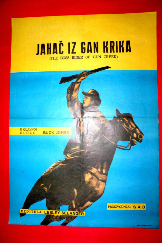 BOSS RIDER OF GUN CREEK 1950