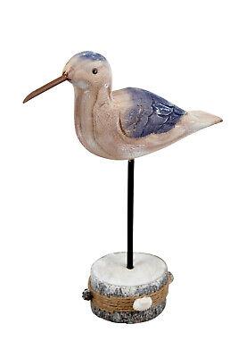 Aufsteller Holz Möwe maritim Design 26x19 cm Maritimdeko Holzaufsteller Vogel