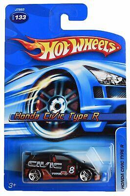 Hot Wheels Honda Civic Type R #133, black