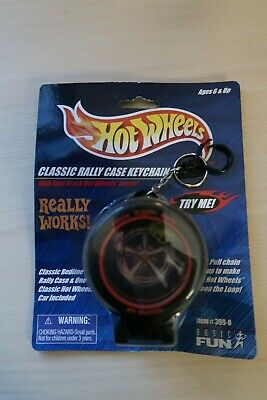 1999 Hot Wheels Keychain Mattel Red Line Rally Case #399-0 New & Sealed