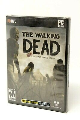 Walking Dead: Limited Best Buy Edition - PC - Poster Inc - New Sealed Rare