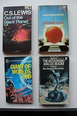 4 vintage science fiction novels (lot 2)