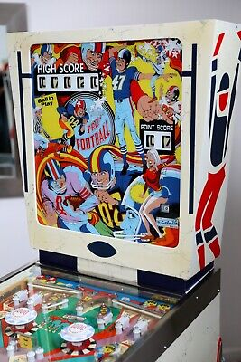 "1973 D Gottlieb Pro Football pinball machine  ""Restored"""