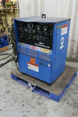 500 Amp Miller Syncrowave 500 Welder Yoder 71304