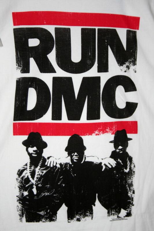 Retro Run DMC Hip Hop 2010 T-Shirt New Size M 100% Cotton Live Nation