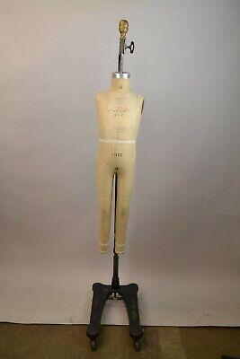 Wolf Collapsible Vintage Dress Form Mannequin Model 1977