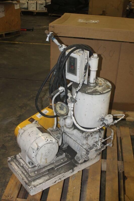 Kinney Vacuum Pump, Model Kd30 1.5hp 220/440v 3ph Working