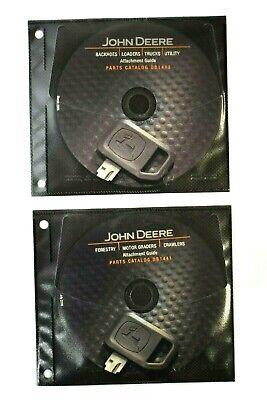 John Deere Db1440 And Db1441 Cd Parts Catalog Backhoes Loaders Graders Crawlers