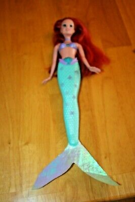 2007 Disney THE LITTLE MERMAID ARIEL Color Change Doll-Used Color Change Mermaid Doll