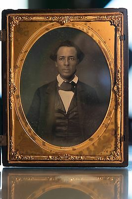 James Pierson Beckwourth Half Plate Daguerreotype African American, Freed Slave