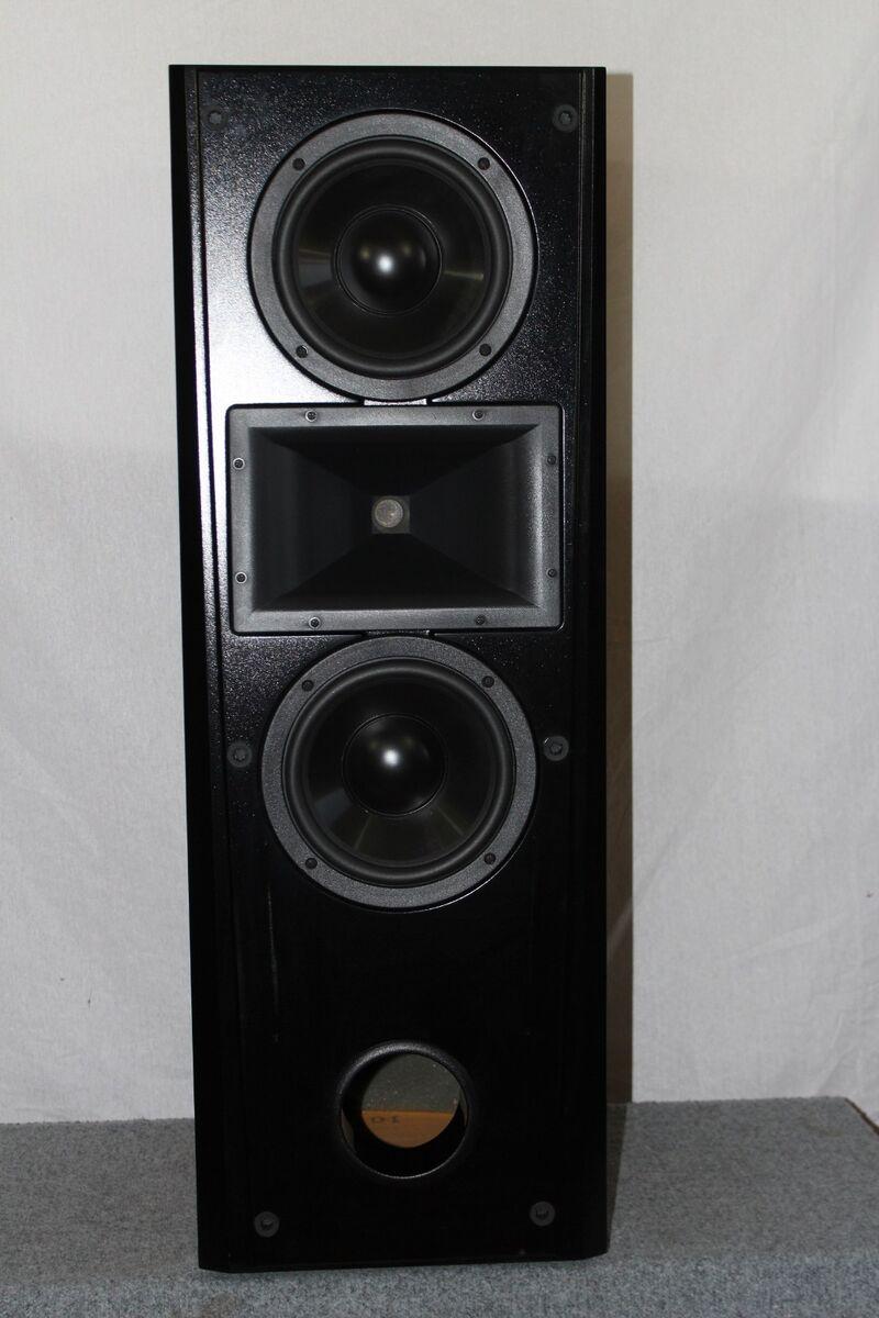 Klipsch Epic Cf2 Dual 8 Woofers Floor Standing Stereo Speaker On