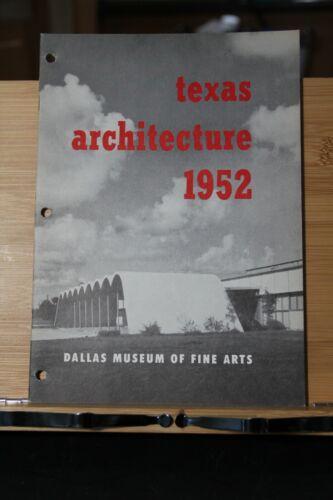 DMFA Dallas Museum of Fine Arts Architecture 1952 Pamphlet Booklet