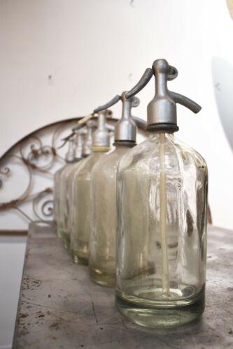 Vintage Seltzer Bottles-CLEAR