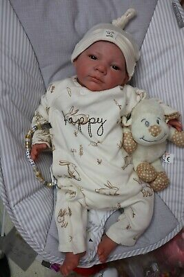 """REBORN BABY DOLLS 7lbs CHILD FRIENDLY 20"""" ALFIE, OUTFIT MAY VARY SUNBEAMBABIES"""