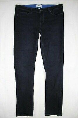 Anthropologie Paige Denim Santa Monica Skinny Jeans Dark Wash 32x32