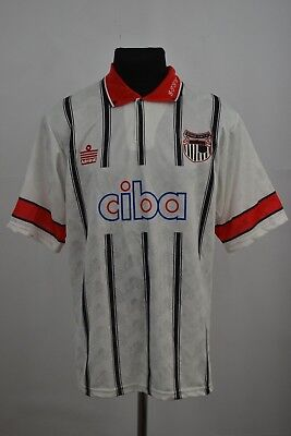 1993 1994 Grimsby Town Home Football Shirt Adults Medium Jersey NWT image