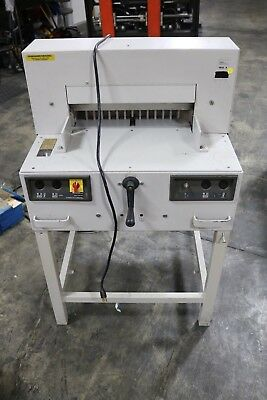 Triumph Mbm Ideal 4850a Paper Cutter Working Nice Extra Blades