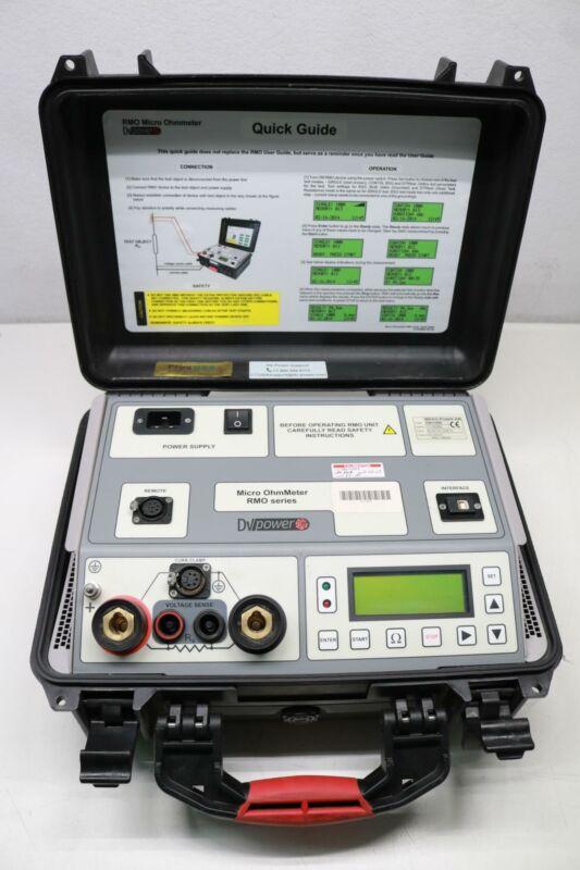 DV Power Micro Ohmmeter RMO400G 5A-400A DC