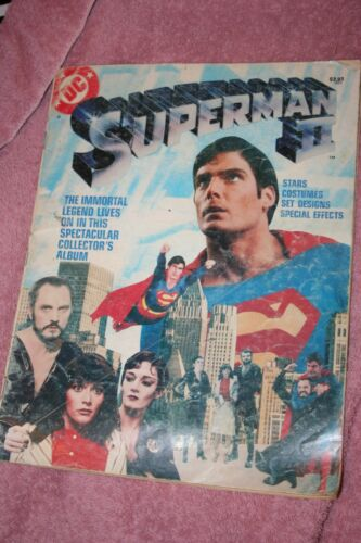SUPERMAN 2 The Movie Official Souvenir Magazine DC Comics rough cover 1981