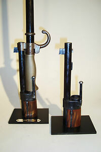 Support display stand for Lebel M.1886  bayonet