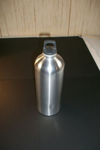 Vintage SIGG Switzerland camping stove fuel bottle 2 extra top gasket NEVER USED