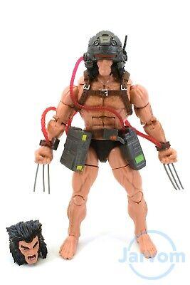 """Marvel Legends 6"""" Inch Caliban BAF Wave X-Men Weapon X Wolverine Loose Complete"""