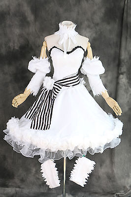 H-3316 S/M/L/XL/XXL Black Butler Ciel Doll Circus Rosen Hut Cosplay Kleid Kostüm