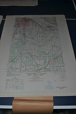 1940's Army Topo map (like USGS) Tacoma South Washington 1578 III Fort Lewis
