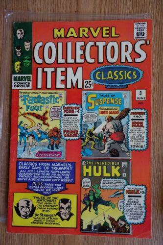 Marvel Collectors Item Classics #3 (June,1966) Silver Age Comic