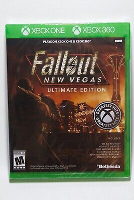 Fallout New Vegas Ultimate Edition - Xbox 360/Xbox One **Brand New**