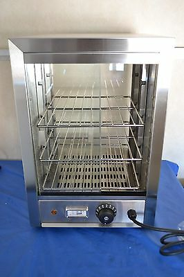 SUPER SALE SMALL PIE CABINET HEATED DISPLAY. ideal 4 LIMITED SPACE  35x34cm base