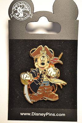 Disney Pirates of The Caribbean Costume Mickey Mouse Captain Pin