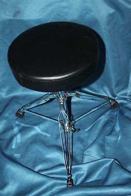 Double Braced Tripod Drum Throne - SALE! Tour Grade 200 Series Double Braced Tripod Drum Throne, Round Seat, TG297R