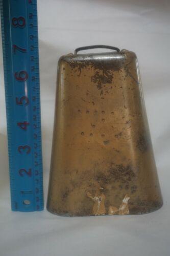 HOLSTEIN Large Bell Kentucky Cow Bell Brass