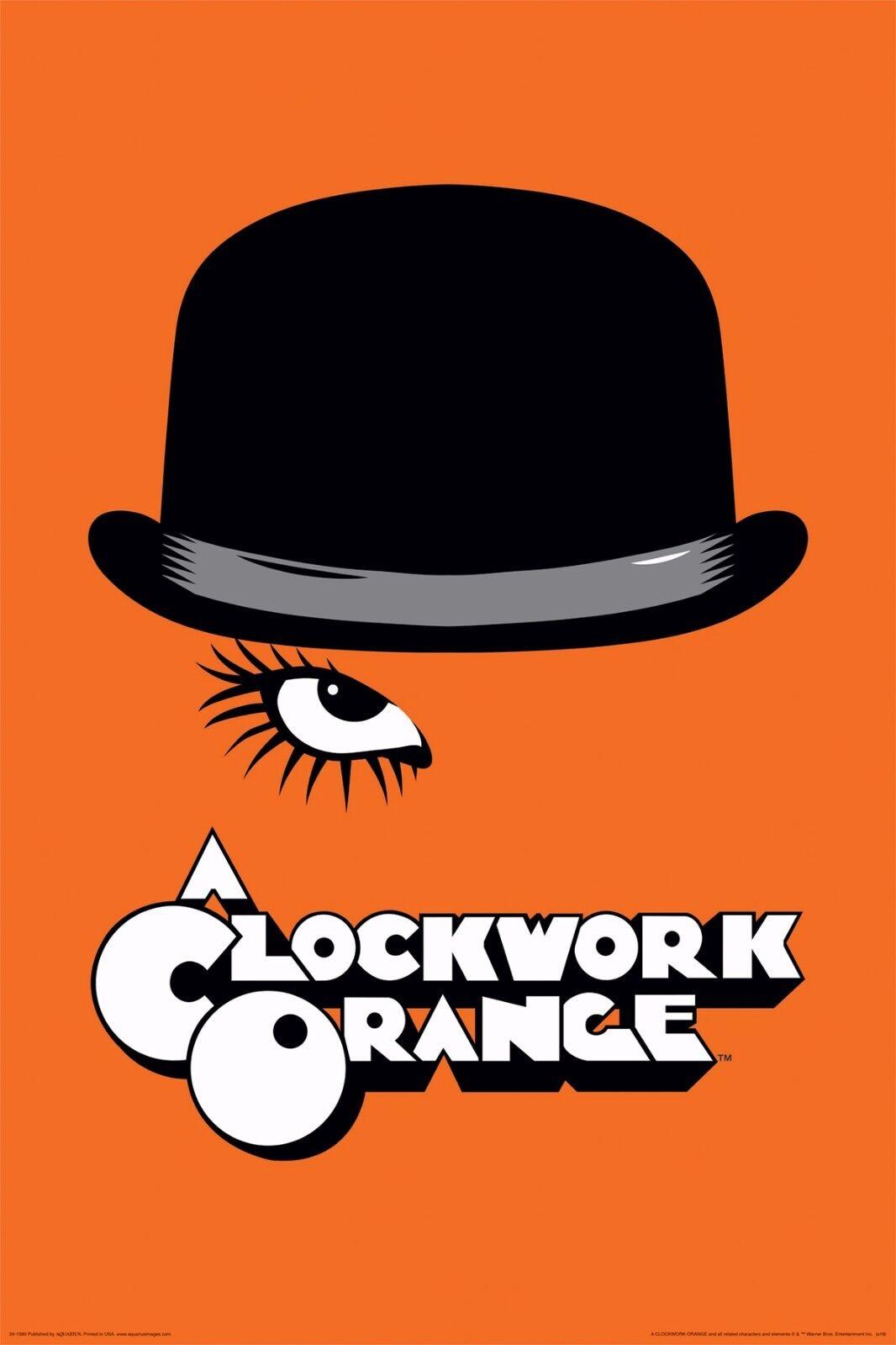 CLOCKWORK ORANGE MOVIE POSTER Milkshake RARE HOT 24X36