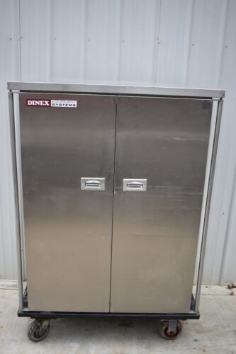 DINEX  STAINLESS STEEL TRANSPORT /  HOLDING CABINET