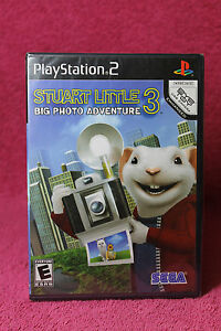 STUART LITTLE 3  BIG PHOTO ADVENTURE  PS2  (PLAYSTATION)  NTSC  FACTORY SEALED