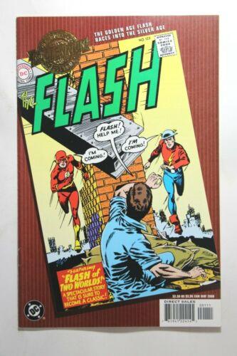 MILLENNIUM EDITION: FLASH #123 - 1ST JAY GARRICK & BARRY ALLEN TEAM UP - 2000 DC